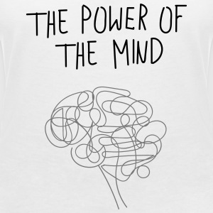 ThePowerOfTheMind - T-shirt col V Femme