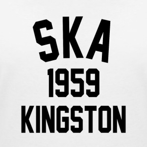 Ska 1959 Kingston - Women's Organic V-Neck T-Shirt by Stanley & Stella