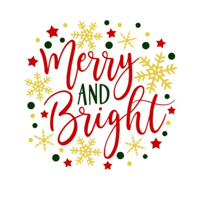 MERRY BRIGHT | Kerst Kerst December Ster