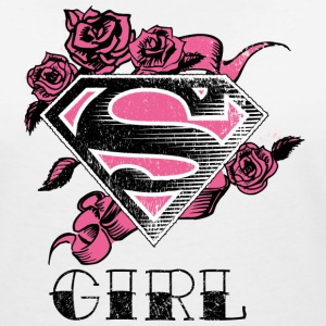 Superman 'S-Shield Girl' Tee shirt Femme