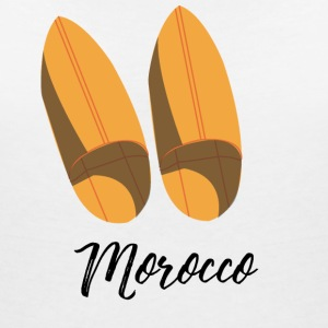 Moroccan traditional shoes - Women's V-Neck T-Shirt