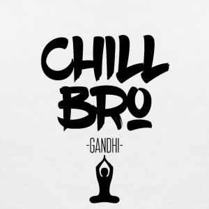Chill Out Bro - Women's Organic V-Neck T-Shirt by Stanley & Stella