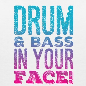DRUM AND BASS - Women's V-Neck T-Shirt