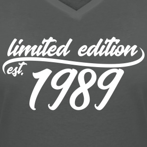 Limited Edition 1989 is - T-shirt bio col en V Stanley & Stella Femme