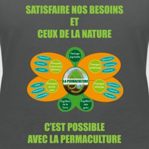 Ethics and Principles of Permaculture - Women's Organic V-Neck T-Shirt by Stanley & Stella