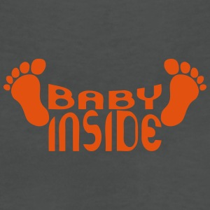 Baby inside foot logo pregnant