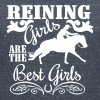 Reining Girls are the best Girls - Women's Organic V-Neck T-Shirt by Stanley & Stella