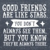 Good Friends Are Like Stars... - Women's Organic V-Neck T-Shirt by Stanley & Stella
