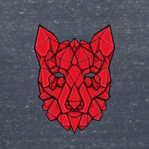 Gem'd wolf - Women's V-Neck T-Shirt