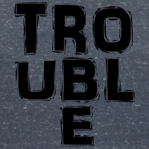 Trouble - Women's V-Neck T-Shirt