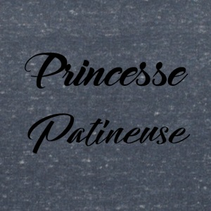 Princess skater - Women's V-Neck T-Shirt