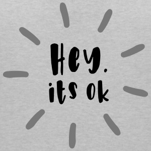 Hey. it's OK - Women's Organic V-Neck T-Shirt by Stanley & Stella