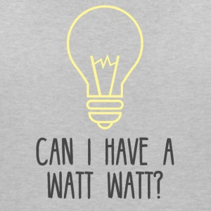 Electrician: Can i have a Watt Watt? - Women's Organic V-Neck T-Shirt by Stanley & Stella