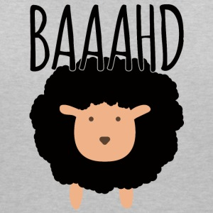Sheep / farm: Baaahd - Women's Organic V-Neck T-Shirt by Stanley & Stella