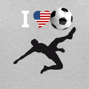 i Love but de vélo de soccer kick football magistral - T-shirt col V Femme