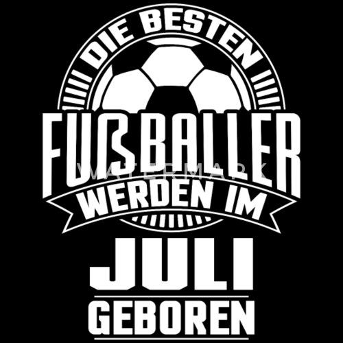 Fussballer Geburtstag Juli Frauen Bio T Shirt Mit V Ausschnitt
