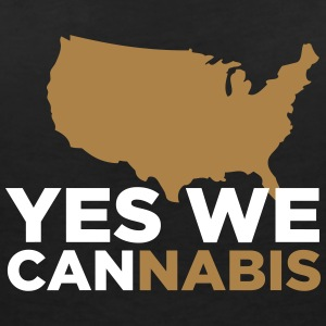 Yes We Cannabis! - Women's V-Neck T-Shirt