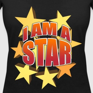 I'm a star - Women's Organic V-Neck T-Shirt by Stanley & Stella