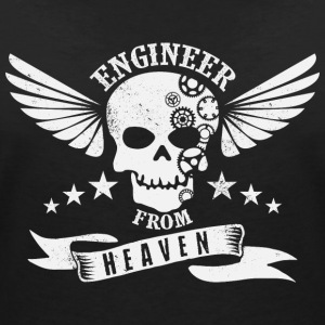 Engineer from Heaven - Women's Organic V-Neck T-Shirt by Stanley & Stella