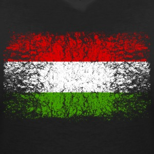 Hungary 002 AllroundDesigns - Women's V-Neck T-Shirt