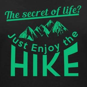 Enjoy the hike - Women's Organic V-Neck T-Shirt by Stanley & Stella