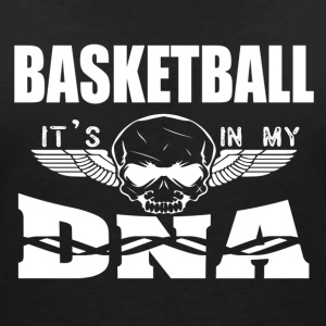 BASKETBALL - It's in my DNA - Women's Organic V-Neck T-Shirt by Stanley & Stella