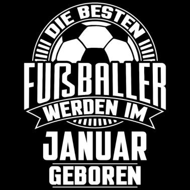 Fußball Baby T Shirt Schwarz