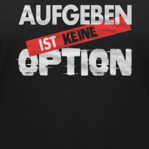 Giving up is not an option - Frauen Bio-T-Shirt mit V-Ausschnitt von Stanley & Stella