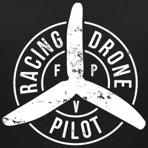 Racing Drone Pilot - FPV - Women's Organic V-Neck T-Shirt by Stanley & Stella