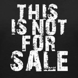 This is not for Sale - Frauen Bio-T-Shirt mit V-Ausschnitt von Stanley & Stella