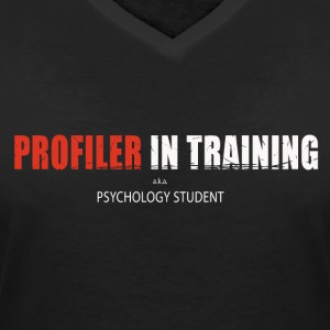 Profiler in training - Women's Organic V-Neck T-Shirt by Stanley & Stella