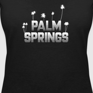 Palm Springs - Women's Organic V-Neck T-Shirt by Stanley & Stella