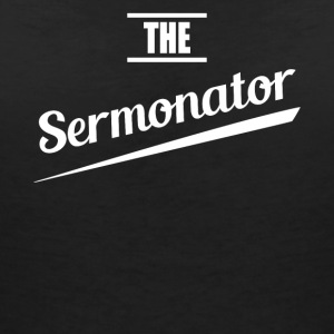 Sermonator pastor v1 - Women's V-Neck T-Shirt