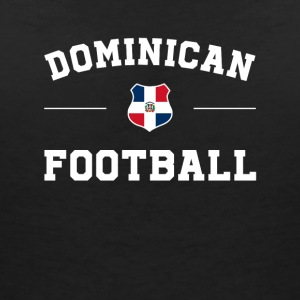 Dominica Football Shirt - Dominica Soccer Jersey - Women's Organic V-Neck T-Shirt by Stanley & Stella