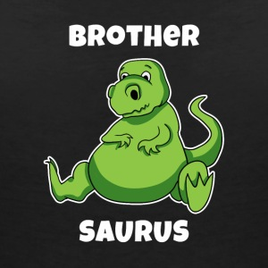 Brothersaurus Shirt Brother saur tea - Women's Organic V-Neck T-Shirt by Stanley & Stella