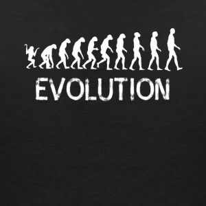 Evolution human ape gait development lo - Women's Organic V-Neck T-Shirt by Stanley & Stella