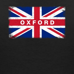Oxford Shirt Vintage United Kingdom Flag T-Shirt - Women's Organic V-Neck T-Shirt by Stanley & Stella
