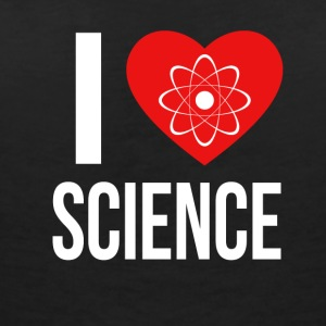 I LOVE SCIENCE * IDEAL GIFT * - Women's Organic V-Neck T-Shirt by Stanley & Stella