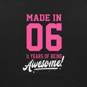 MADE IN 2006 - 11TH BIRTHDAY - Women's V-Neck T-Shirt