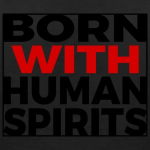 Born Human Spirits - Women's Organic V-Neck T-Shirt by Stanley & Stella