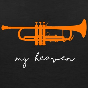 my heaven - Women's V-Neck T-Shirt