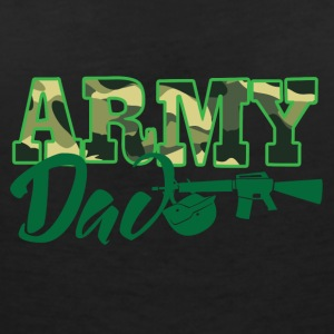 Military / Soldiers: Army Dad - Women's V-Neck T-Shirt