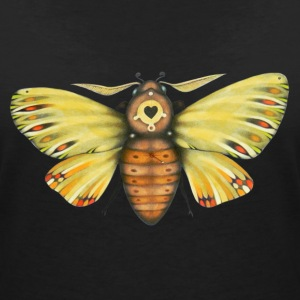 Fat moth - Women's Organic V-Neck T-Shirt by Stanley & Stella