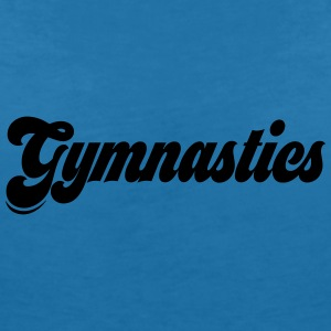 gymnastics - Women's Organic V-Neck T-Shirt by Stanley & Stella