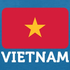 National Flag Of Vietnam - Women's Organic V-Neck T-Shirt by Stanley & Stella