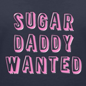 Sugar Daddy Wanted - Vrouwen T-shirt met V-hals