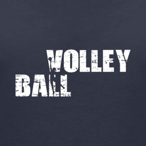 volleyball - Women's Organic V-Neck T-Shirt by Stanley & Stella