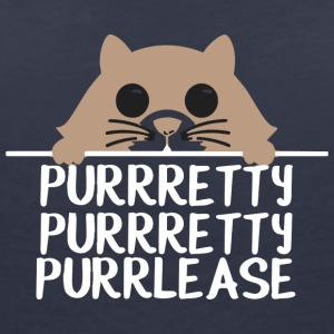 PURRRETTY, PURRRETTY, PURRLEASE - Women's V-Neck T-Shirt