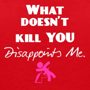 What doesn't kill you - Frauen Bio-T-Shirt mit V-Ausschnitt von Stanley & Stella