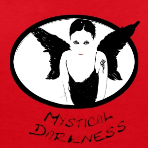 Mystical darkness - Women's Organic V-Neck T-Shirt by Stanley & Stella